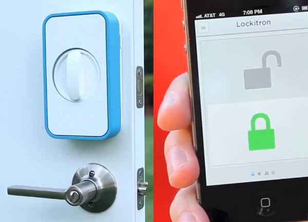 Lockitron: Lock/Unlock From Anywhere