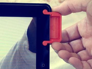Magnetic iPad Sound Enhancer