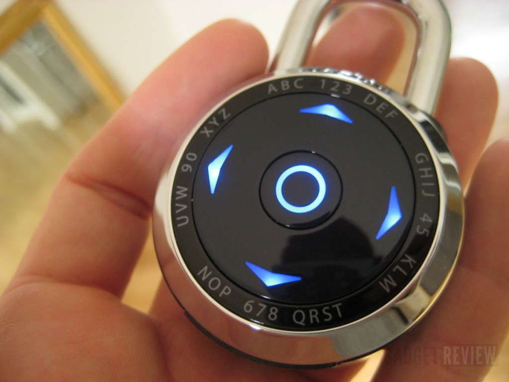 Electronic Pad Locks : Mastercraft dialspeed electronic padlock petagadget