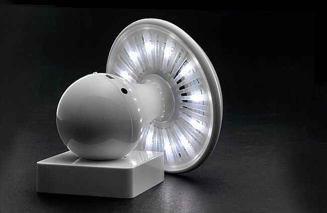 MP3 Player Shroom LED Lamp