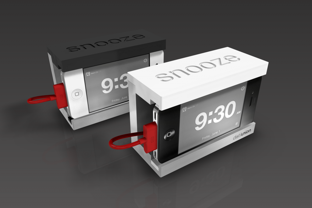 Snooze alarm clock for iPhone