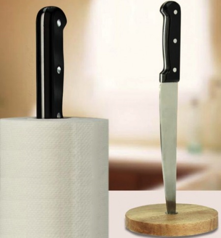 Angry Chef Paper Towel Holder