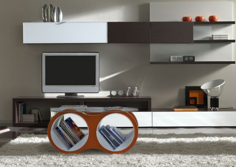 Bolla 2 Glass Coffee Table
