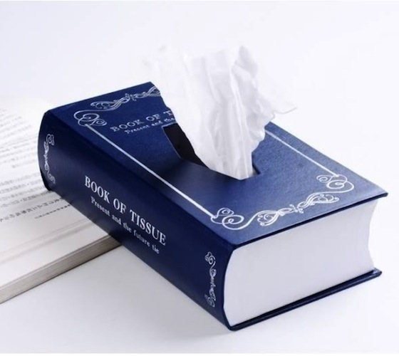 Book Style Paper Towel Tissue Box