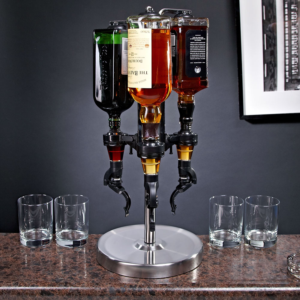 Four Bottle Drink Dispenser