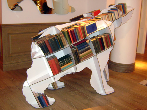 Iron Joe Polar Bear Bookcase