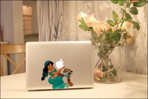 Princess Macbook Decal