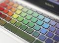 Rainbow Keyboard Decal for Macbook