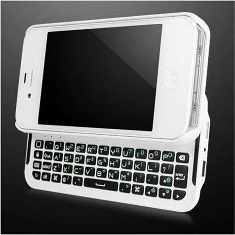 SANOXY Bluetooth Keyboard Case iPhone 4S