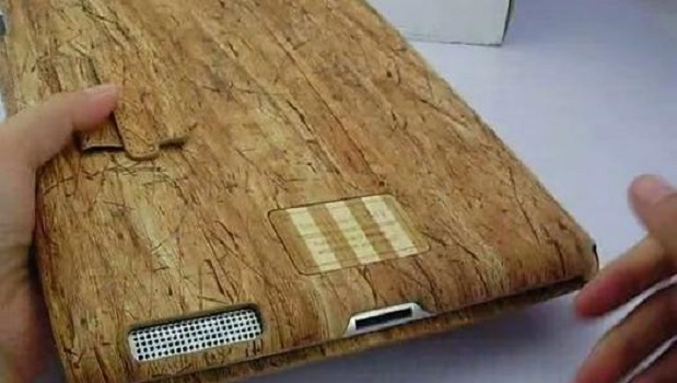 Wood Grain Texture Protection Case