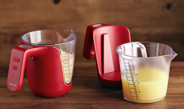 Electronic Measuring Cup : Taylor digital measuring cup and scale petagadget
