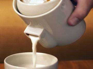 Tonfisk Newton Milk/Sugar Server