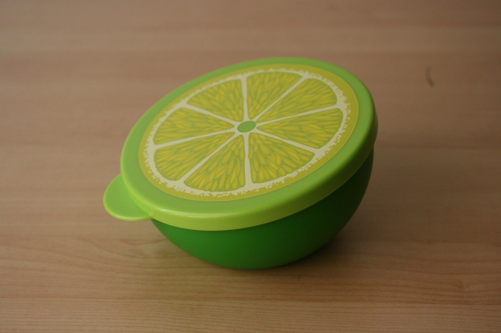 Tupperware Lemon Keeper
