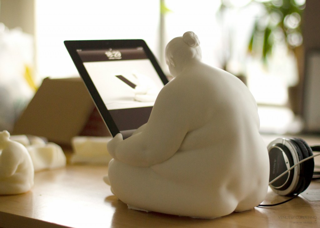 Venus of Cupertino iPad Docking Station