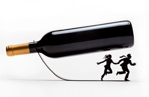 Wine For Your Life Bottle Holder