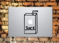 Apple Juice Box Macbook Decal