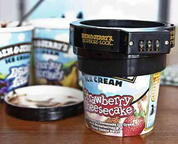 Ben & Jerry's Ice Cream Lock