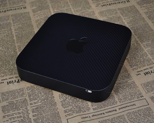 Carbon Fiber Mac Mini Wrap