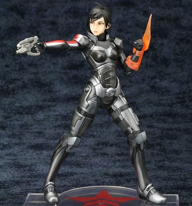 Commander Shepard Statue