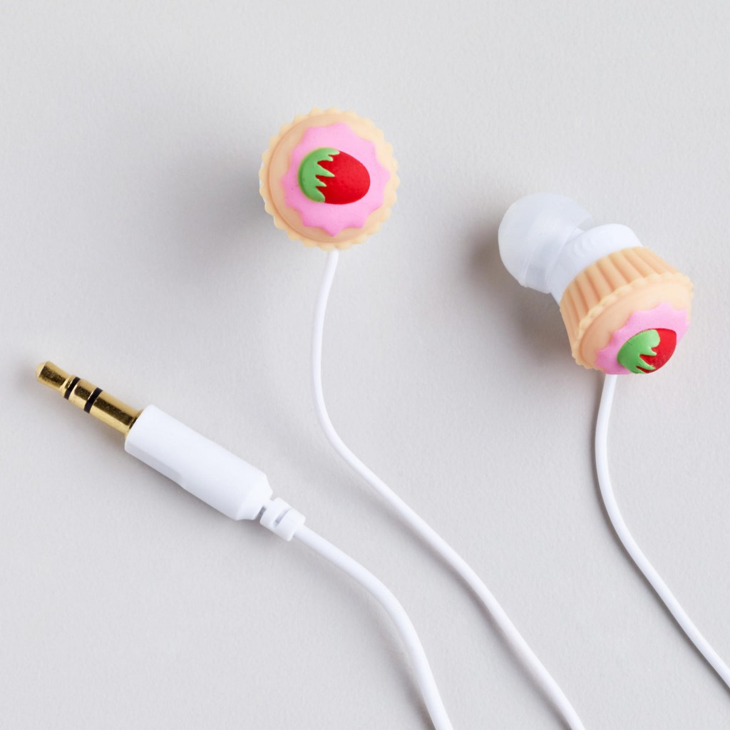 Cupcake Cord Wrapper & Earbud Set