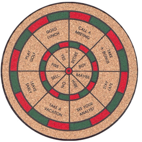 Decision Maker Dartboard