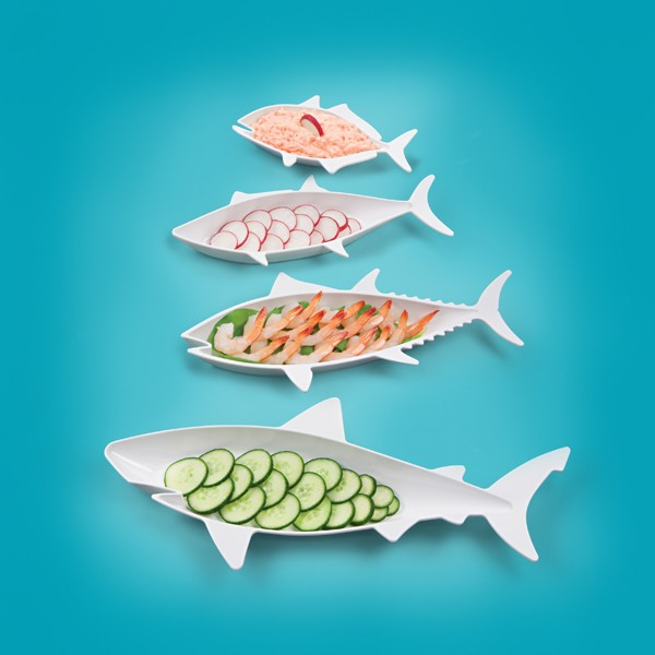 Fish Food Nesting Dishes