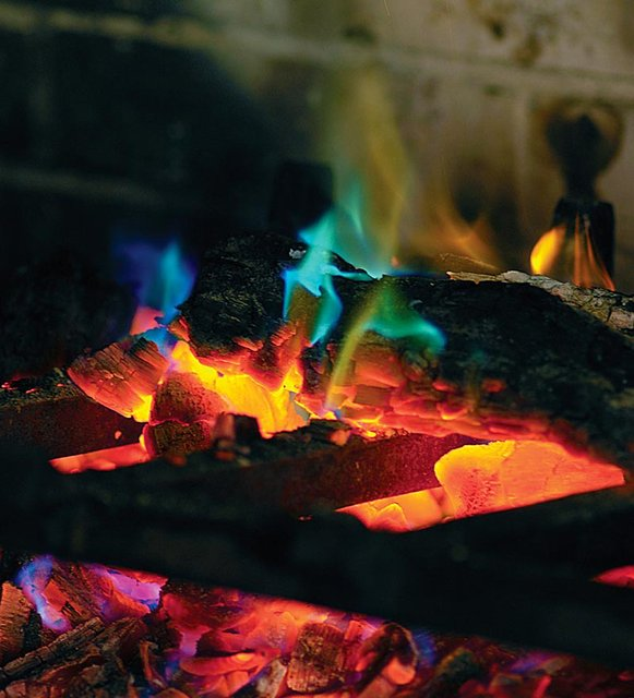 Flame Coloring Kit for Fireplace