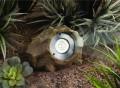 High-Output Solar Rock Light Set