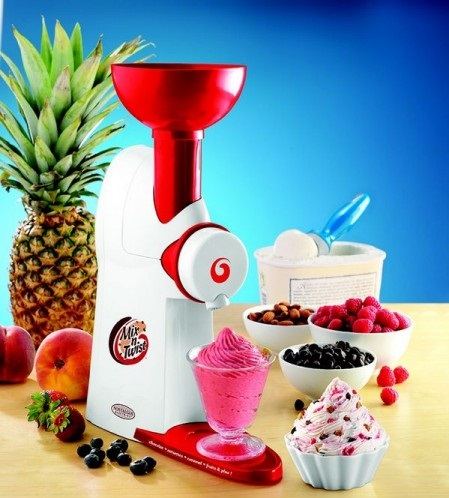 Ice Cream & Toppings Mixer