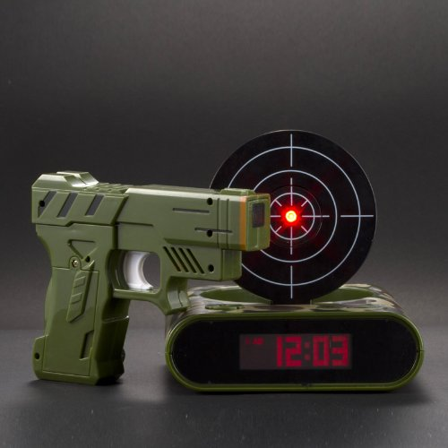 Lock N' load Alarm Clock