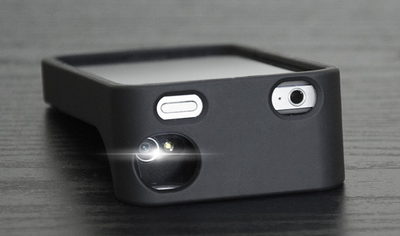 Horizontal Shooting iPhone Case