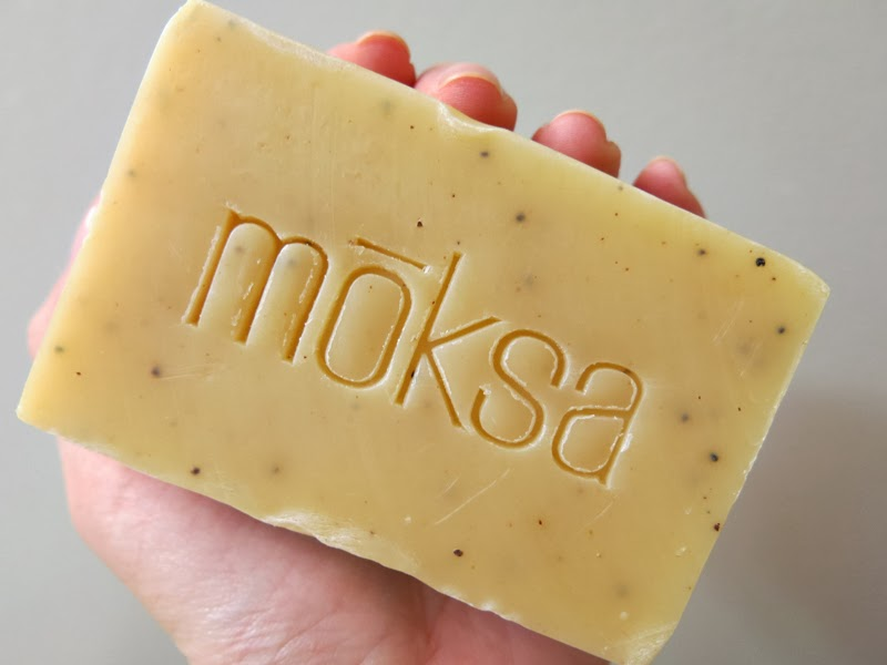 Moksa Lemon Exfoliating Bar