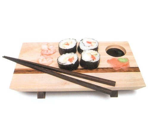 Mountain Woods Sushi Server