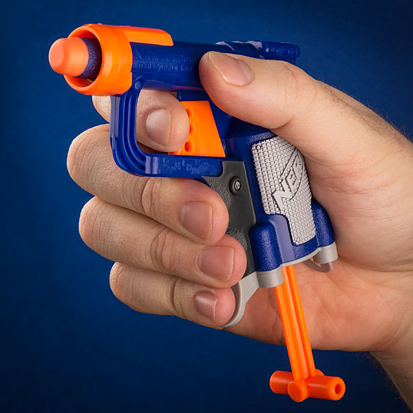 NERF Triad Elite 3-Dart Mini Blaster