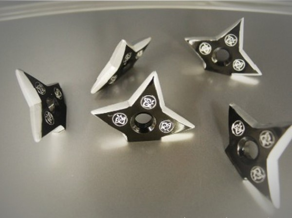Ninja Throwing Star Magnet