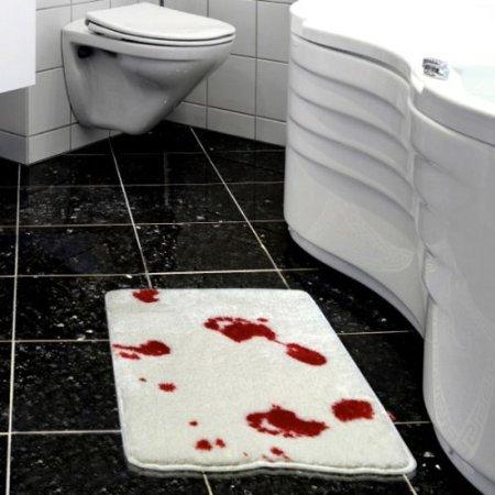 Psycho Bloody Bath Mat