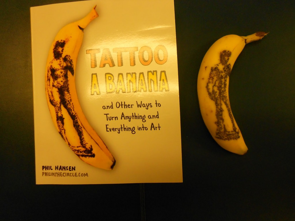 Tattoo a Banana Book