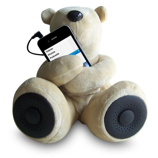 Teddy Bear Stereo Speakers