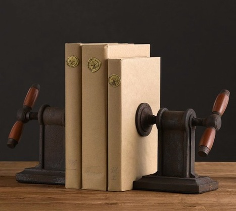 Two'S Company Vice Grip Bookends