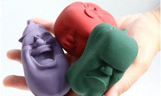 Veggie Face Stress Balls