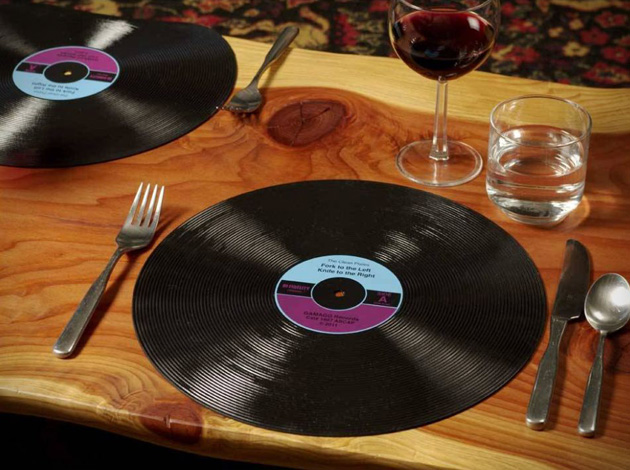 Vinyl Record Placemats