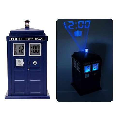 Tardis projection alarm clockpetagadget - Tardis alarm clock ...