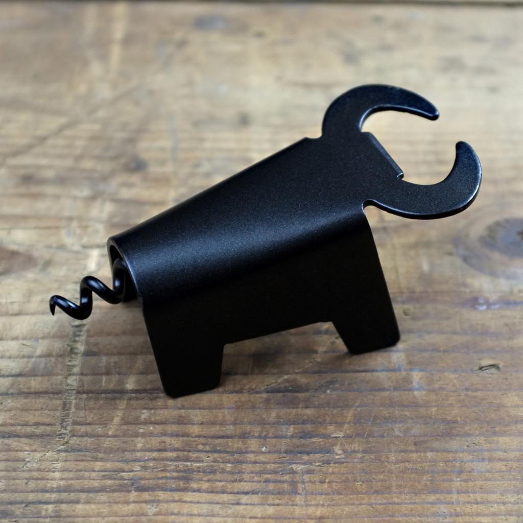 Bull Corkscrew and Bottle Opener