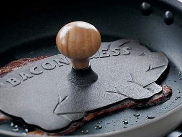 Cast-Iron Bacon Press