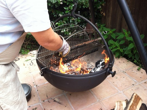 Cowboy Cauldron Rotisserie