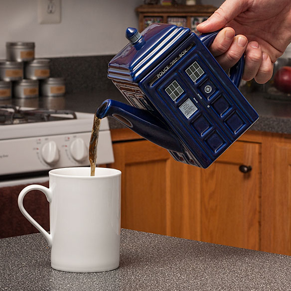TARDIS Ceramic Tea Pot