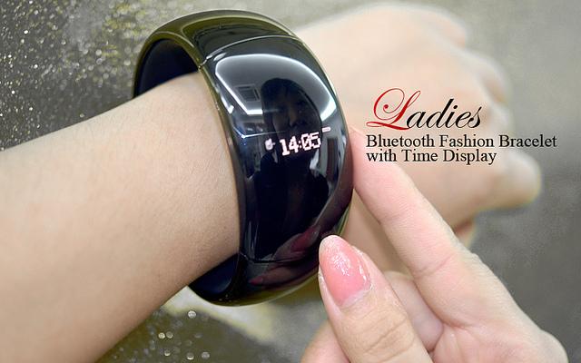 Fashion Bracelet Time Display