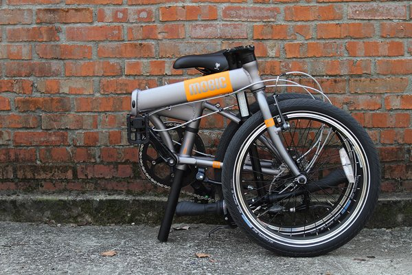 Aluminum Folding Bike by MOBIC