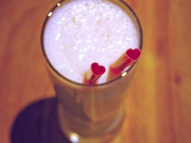 Heart Shaped Drinking Straws