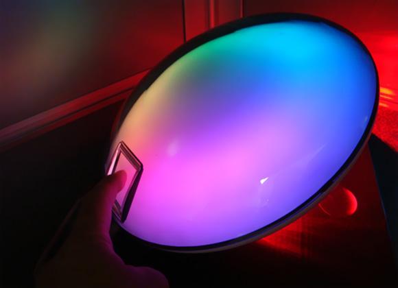 Schwebender leuchtender led globus farbwechsel rgb led lampe